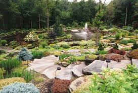 cascading rock pathway gardening with rocks ideas landscaping