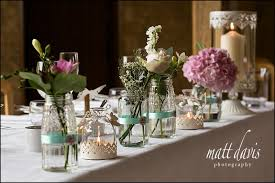wedding flowers jam jars barn wedding decorating ideas what otter rubbish is this my