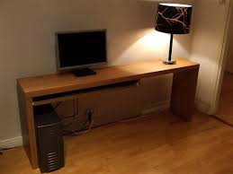 Slim Computer Desk Looking For A Slim Looking Computer Table Ikea Hackers