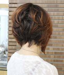 back view wavy short bob for thick hair 2015 20 best graduated bob hairstyles short hairstyles 2016 2017