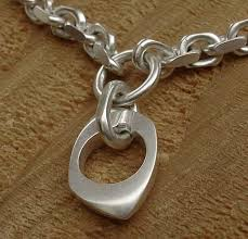 silver bracelet with pendant images Women 39 s designer silver bracelet love2have in the uk jpg
