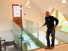 Banister Glass Glass Balustrades Nottingham Lee Glass And Glazing