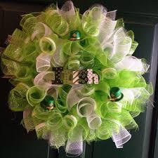 mesh wreaths shop green mesh wreath on wanelo