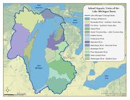 Map Of Lower Michigan by Lake Michigan Basin Inland Aquatic Ecosystems Integrated