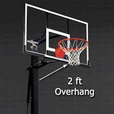 black friday basketball hoop silverback 54