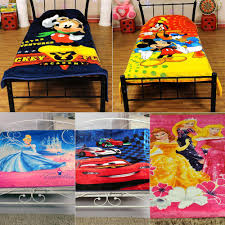 pick any 1 single bed disney blanket by signature blankets