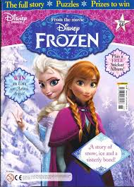 new disney u201cfrozen u201d magazine subscription 16 76 year great