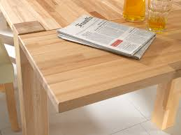 Tisch Buche 10010107 Esstisch Buche 80x80 Mit Ansteckplatten 2x40