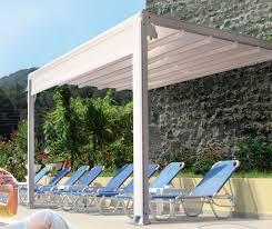 Retractable Roof For Pergola by Aluminum Pergola With Retractable Canopy Pergola Gazebo Ideas