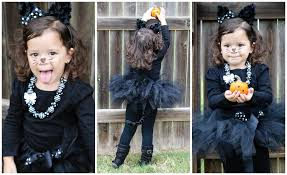 girls black cat halloween costume halloween