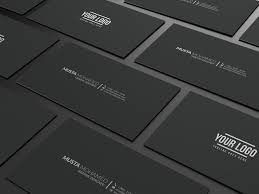 minimal business cards inspiration cardfaves