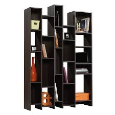 furniture home metal and glass bookshelves size x solid wood