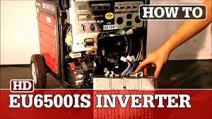 honda eu6500is generator inverter replacement youtube