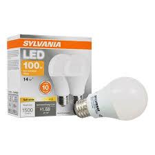 flood light bulbs sylvania sylvania led light bulbs 14w 100w equivalent soft white 2 count