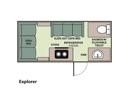 Pop Up Camper Floor Plans by 2017 Aliner Explorer Base Seguin Tx Rvtrader Com