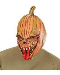 pumpkin mask s pumpkin mask satan costume accessories horror shop