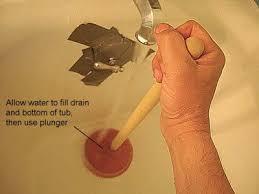 Unclog Bathtub Drain Home Remedy Best 25 Unclog Tub Drain Ideas On Pinterest Diy Drain Cleaning