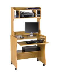 computer table compact computer desk with printer shelf best home furniture