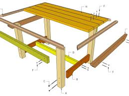 Free Wood Outdoor Chair Plans by Patio 51 Outdoor Table Design Free Wooden Outdoor Table