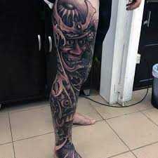 70 thigh tattoos for manly ink designs