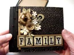 family photo album family heritage mini album