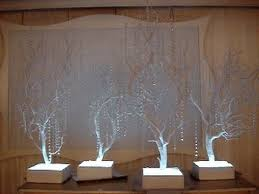 manzanita branches centerpieces winter themed white manzanita tree centerpieces