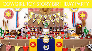 cowgirl toy story birthday party ideas cowgirl toy story b130