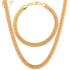 new fashion gold necklace images U7 men 39 s 18k stamp gold chain for men jewelry fancy jewelry jpg