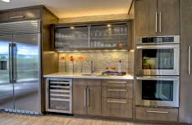 Modern Glass Kitchen Cabinets Glass Kitchen Cabinet Decorating Home Ideas