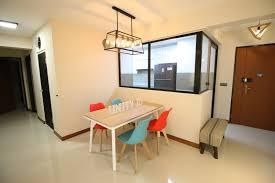 scandinavian project compassvale crescent open concept kitchen