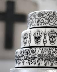 day of the dead wedding cake weddings bellesthecakeco