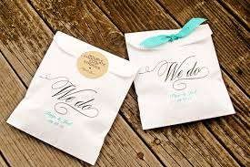 wedding favor bags we do style candy buffet bag wax lined