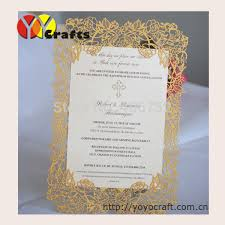 wedding invitation sles online shop wedding invitations card laser cut simple