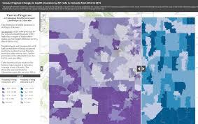Colorado Zip Codes Map by Colorado Health Access Survey 2015 Colorado Health Institute