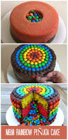 Halloween Round Cake Ideas by A Super Fun And Easy M Rainbow Pinata Cake Http Www Ifood Tv