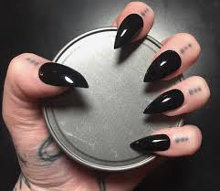 black claws black nails cool black claws nails photo ideas summer nail