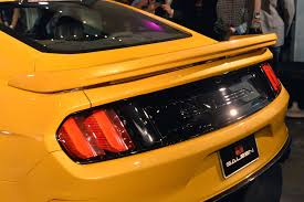 Black And Orange Mustang The 2015 Saleen 302 Black Label Mustang Is Yellow But Not Mellow
