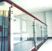 ark stainless steel glass railing staircase balcony railing