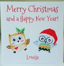 personalised handmade our your first christmas card mr u0026 mrs