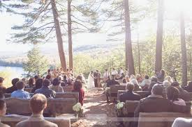 Cheap Wedding Venues In Nh Gorgeous Outdoor Hill Top Setting At The Bluewater Farm In Andover
