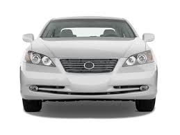 2009 lexus es 350 white 1pc front bumper protector body kit with hole for lexus es350 2007