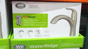 water ridge pull out kitchen faucet kitchen faucets water ridge kitchen faucet manual installation