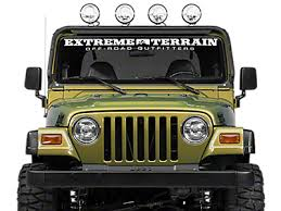 jeep wrangler tj light bar 1997 2006 tj jeep wrangler light bars mounts extremeterrain