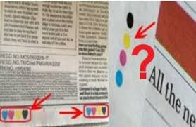 colour meaning what is the meaning of four colour dots in newspaper