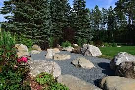 zen rock garden picture of sojourn lakeside resort gaylord