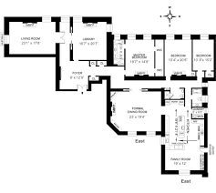 South Florida House Plans The Dakota 1 West 72 Street Nyc Unit 67 Floor Plan