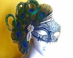 peacock masquerade masks peacock feather masquerade mask venetian feather mask