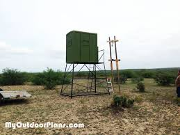 2 Person Deer Blind Plans 9 Free Deer Stand Plans In A Variety Of Sizes