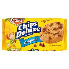 keebler chips deluxe original cookies 12 6 oz 12 count walmart com