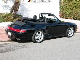 1996 porsche 911 for sale 1996 porsche 993 911 cabriolet 6 speed for sale